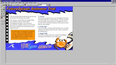 FutureSplash Animator in 1996