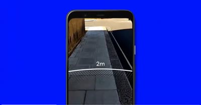 Google's AR tool helps you measure two meters to maintain proper social distancing
