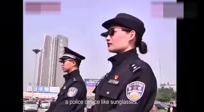 Police in China are wearing facial-recognition glasses of LLVISION