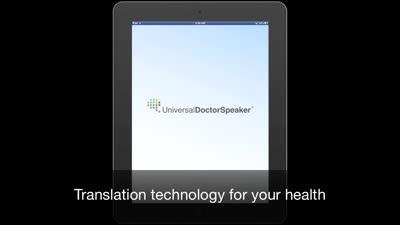 UniversalDoctor Speaker: Medical Translator with Audio