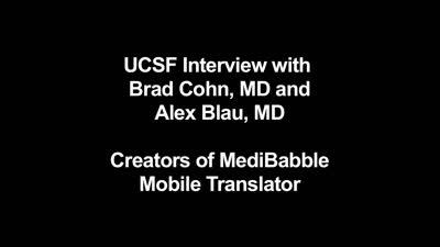 UCSF Med Students Invent Mobile Medical Translation App (MediBabble)