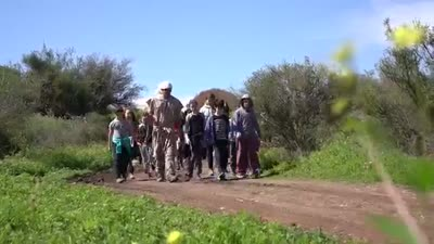 Israel's first interactive hike