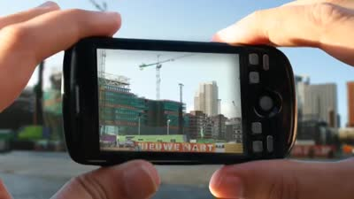 UAR - Urban Augmented Reality on your mobile phone