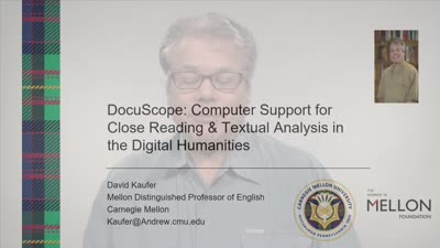 CMU DH Literacy Guidebook David Kaufer DocuScope
