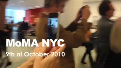 We AR in the MoMA