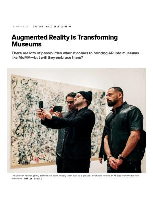 Augmented Reality Is Transforming Museums