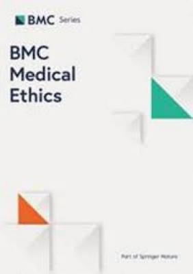 BMC Medical Ethics cover
