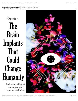 The Brain Implants That Could Change Humanity