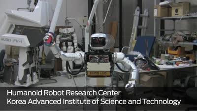 Hubo II Humanoid Robot