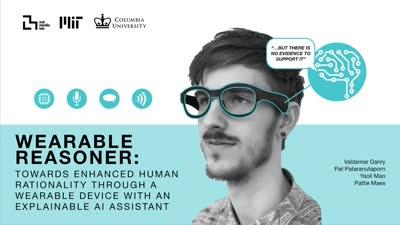 Wearable Reasoner: Enhanced Human Rationality Through A Wearable Audio Device