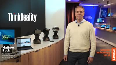 CES 2021 Breakout Session: ThinkReality A3