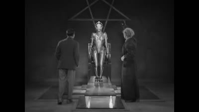Metropolis - Robot is reborn as human