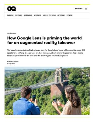 How Google Lens is priming the world for an augmented reality takeover
