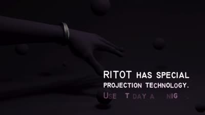 Ritot: The First Projection Watch