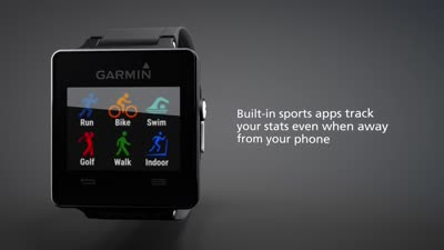 Garmin vivoactive: GPS Smartwatch for the Active Lifestyle