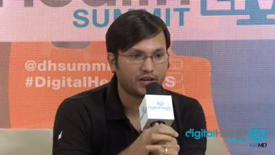 Krispian Lawrence, Co-Founder, Ducere Technologies visits Digital Health LIVE CES WebMD Lounge