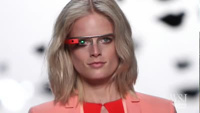 Google's Sergey Brin Previews New 'Google Glass'
