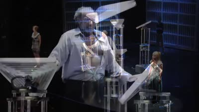 "Tod Machover - ""Death and the Powers;"" a robotic opera"